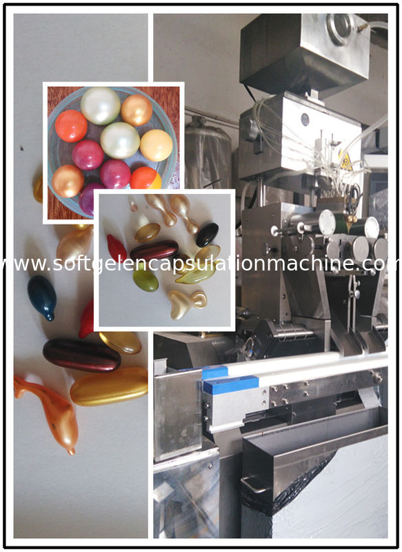 Discount Automatic Paintball Encapsulation Machine With Parallel Gelatine Suplly And PLC