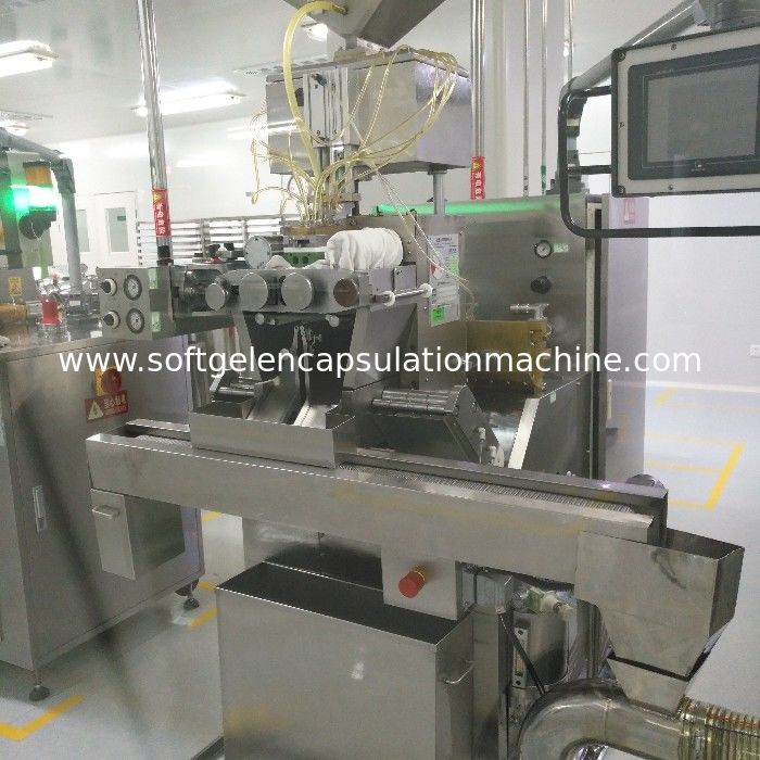 Pharmaceutical Softgel Encapsulation Machine SS316 Machine Material