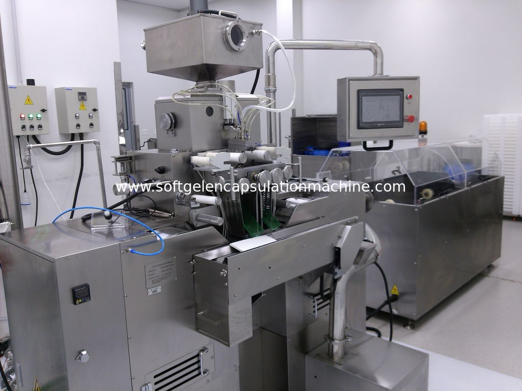 R&D Softgel Production Line For Oval Oblong Shape Fish Oil or Vitamin Softgel